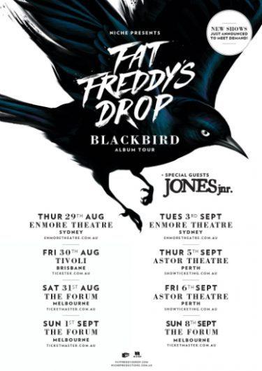 Fat Freddy's Drop Blackbird Album Tour 2013 | Niche Productions
