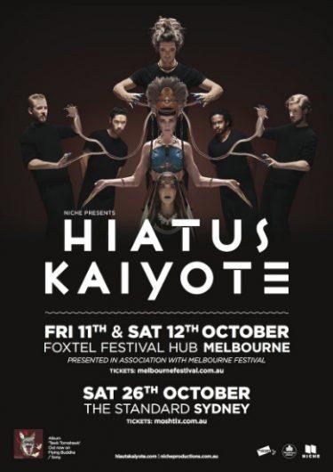 Hiatus Kaiyote Mlebourne & Sydney Headline Shows 2013 | Niche Productions