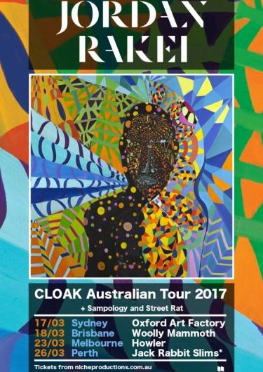 Jordan Rakei ' Cloak' Australian Tour 2017 | Niche Productions