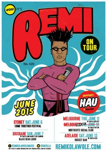 "Remi ""Call It What You Want"" Tour 2015 