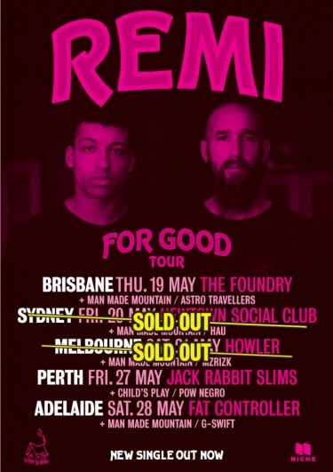 """Remi """"For Good"""" National Tour 2016 