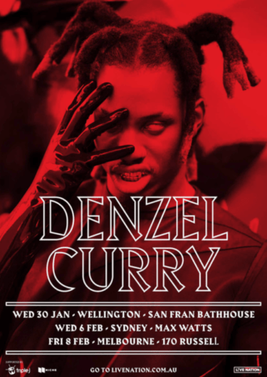 DENZEL CURRY AUstralia Tour 2019   Niche Productions