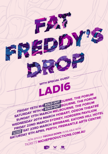 Fat Freddy's Drop National Tour 2019 | Niche Productions