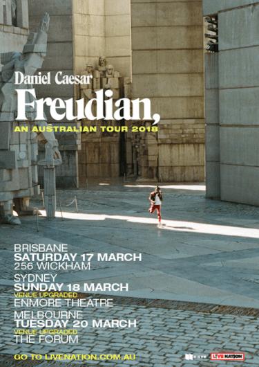 Daniel Caesar Australian Tour 2018 | Niche Productions