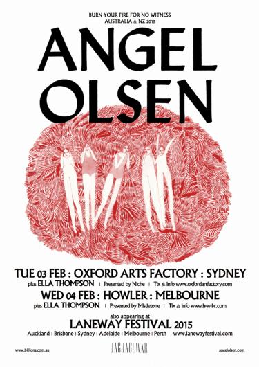 Angel Olsen Headline Shows 2015 | Niche Productions