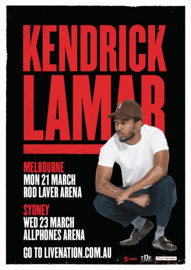 Kendrick Lamar Australian Headline Shows 2016 | Niche Productions