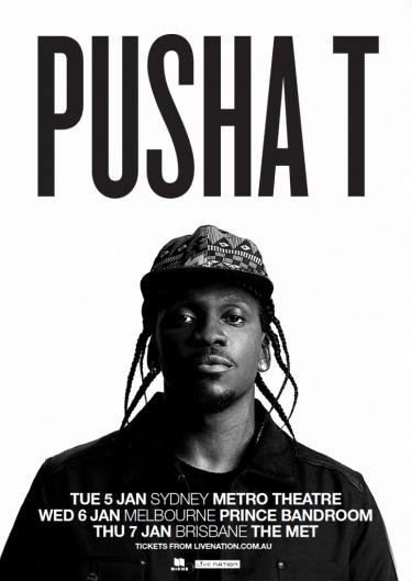 Pusha T Headline East Coast Shows 2016 | Niche Productions