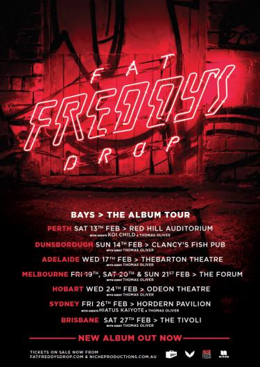 Fat Freddy's Drop National Album Tour 2015 | Niche Productions