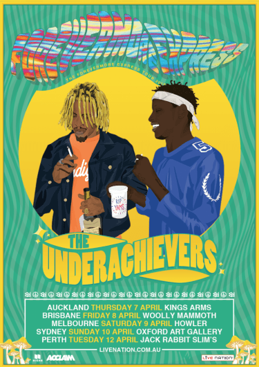 """The Underachievers """"The Forevermore Express"""" Tour 2016 