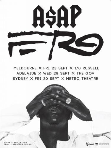 A$AP Ferg Listen Out Sideshows 2016 | Niche Productions
