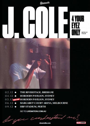 J. Cole '4 your eyez only' World Tour 2017 | Niche Productions
