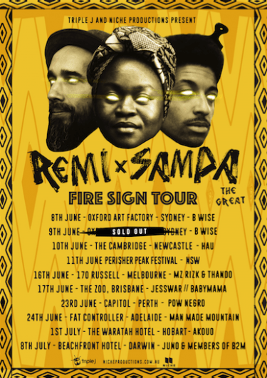 Remi & Sampa The Great National Co-Headline Show 2017 | Niche Productions