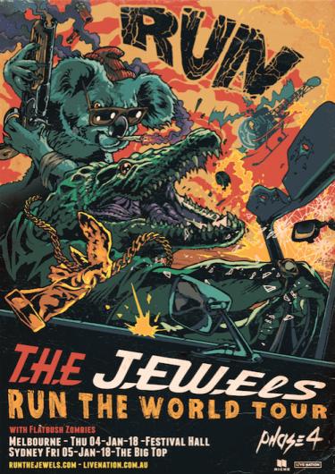 Run The Jewels Headline Shows Australia 2018 | Niche Productions