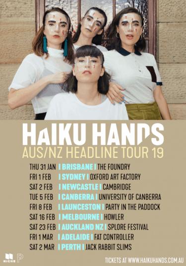 HAIKU HANDS AUS/NZ Headline Tour 2019