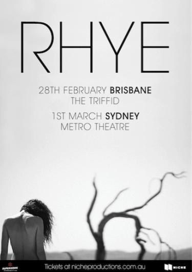 RHYE Exclusive Headline Show 2019 | Niche Productions