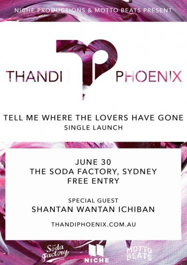Thandi Phoenix Sydney Single Launch 2016 | Niche Productions