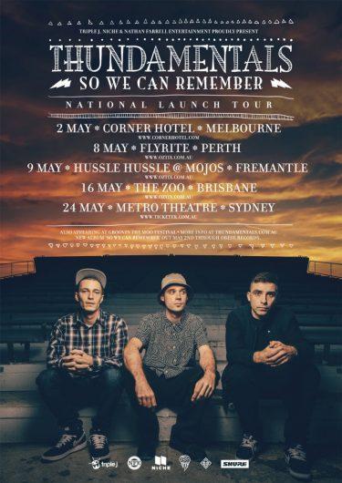 Thundamentals Album Release Tour 2014 | Niche Productions