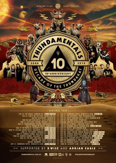 Thundamentals 'Decade of the Thundakat' Australian Tour | Niche Productions