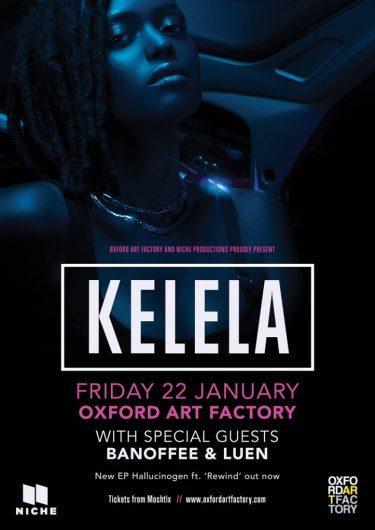 Kelela Exclusive Sydney Show 2016 | Niche Productions