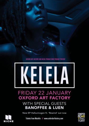 Kelela Exclusive Sydney Show 2016   Niche Productions
