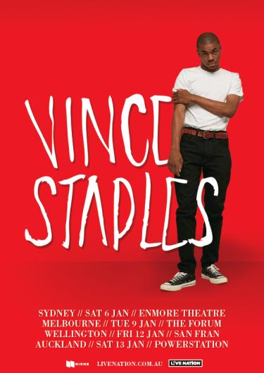 Vince Staples Tour Niche Productions